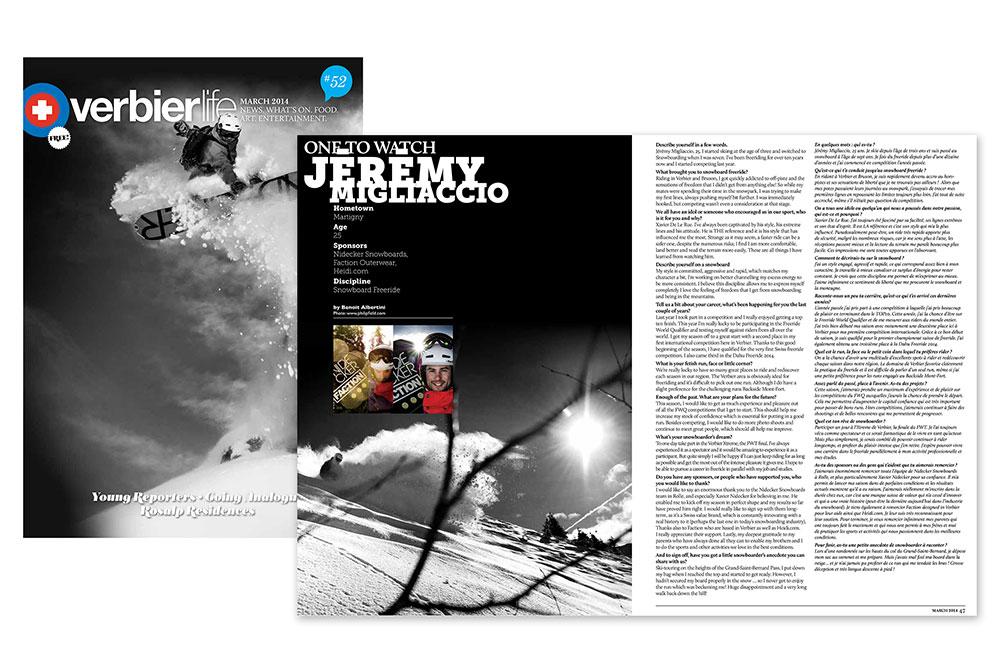 Verbier Life - Jeremy