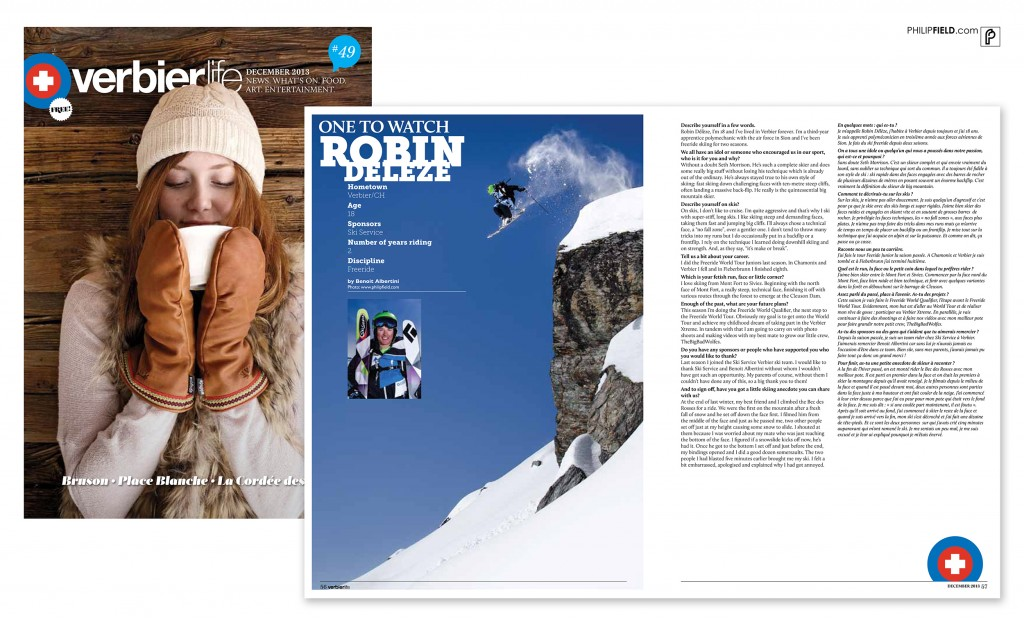 Verbier Life - Robin Deleze