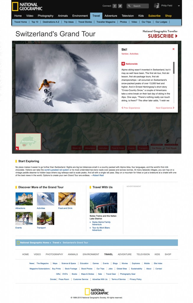National Geographic - Grand Tours Switzerland