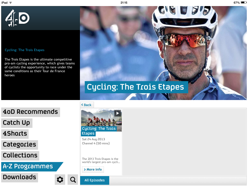 Trois Etapes image featured on 4oD