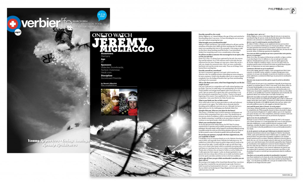 Verbier Life - Jeremy Migliaccio