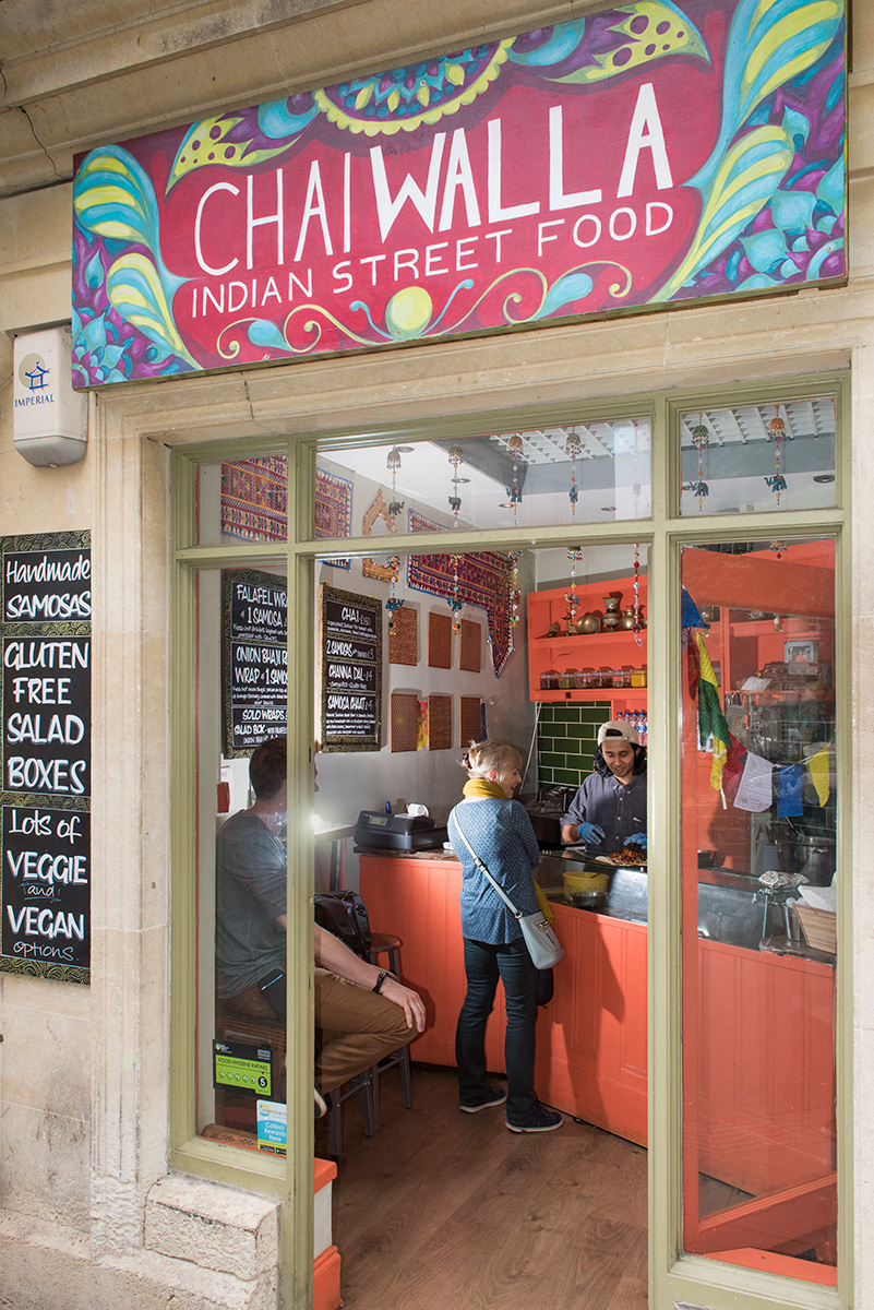 Chai Walla on Kingsmead Square, Bath