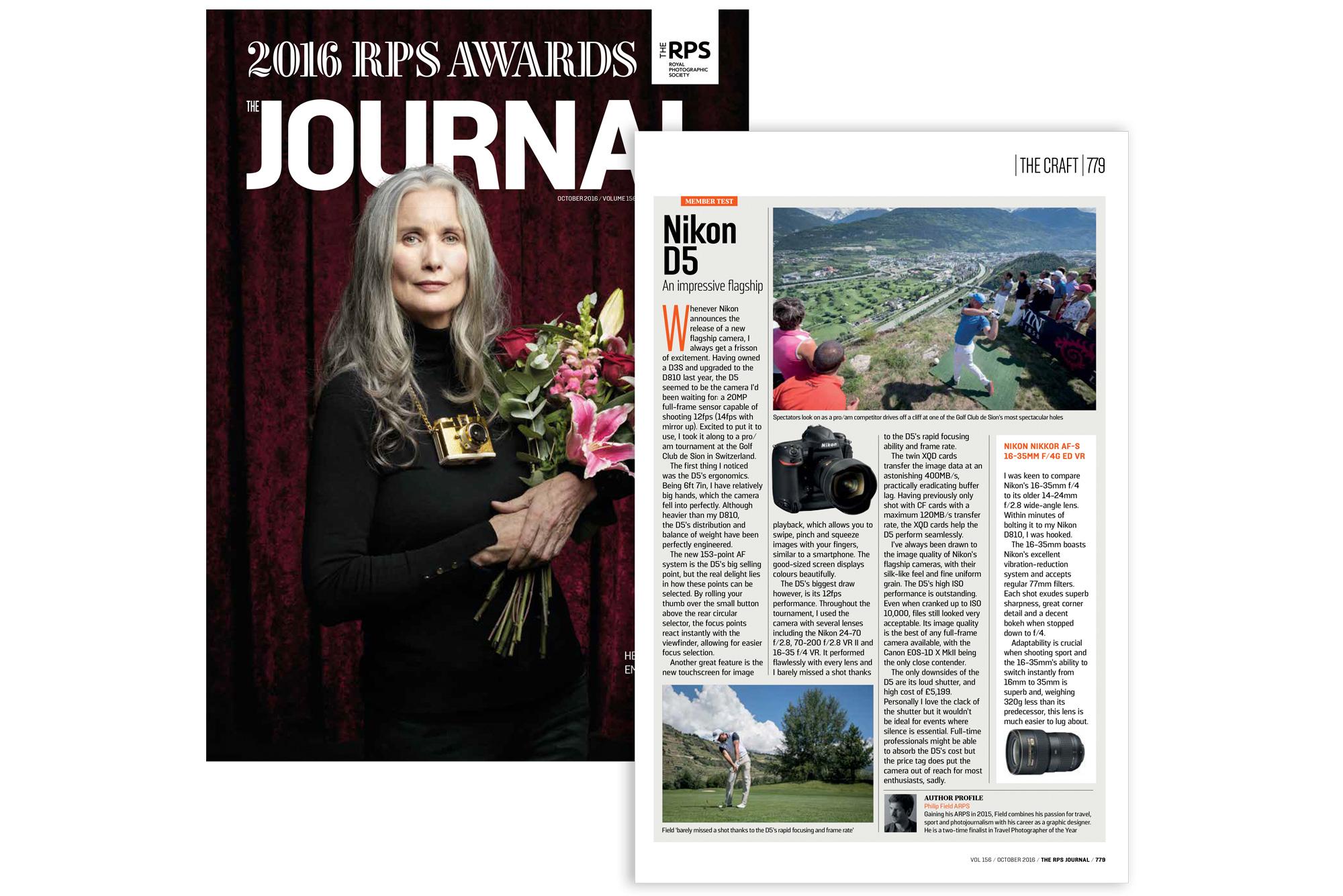 RPS Journal - October 2016 - Philip Field