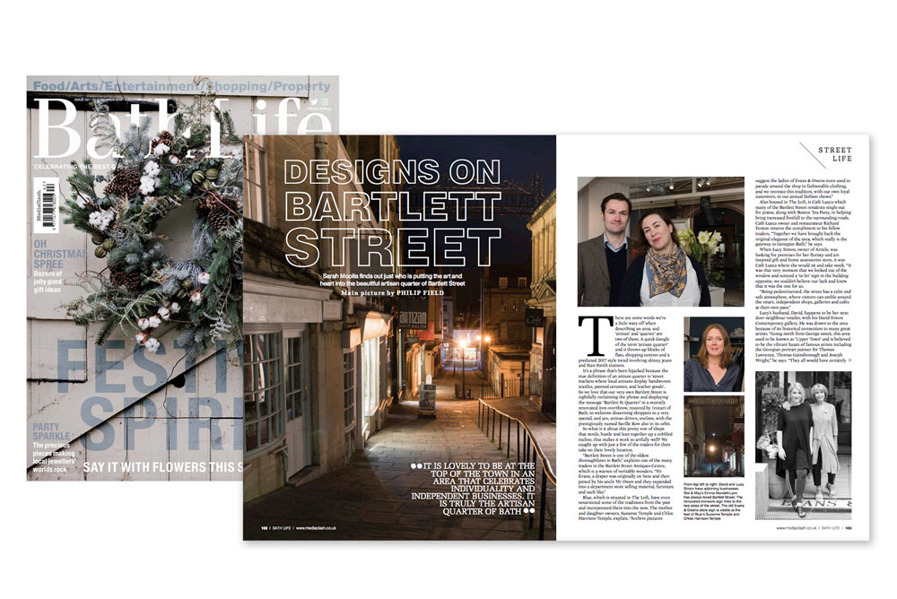Bath Life - Bartlett Street feature image