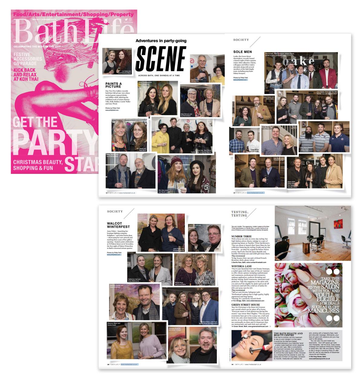 Bath Life press cutting from Issue 328