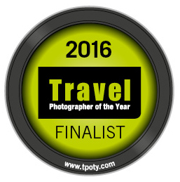 Travel Photographer of the Year 2016 - Finalist badge - Philip Field