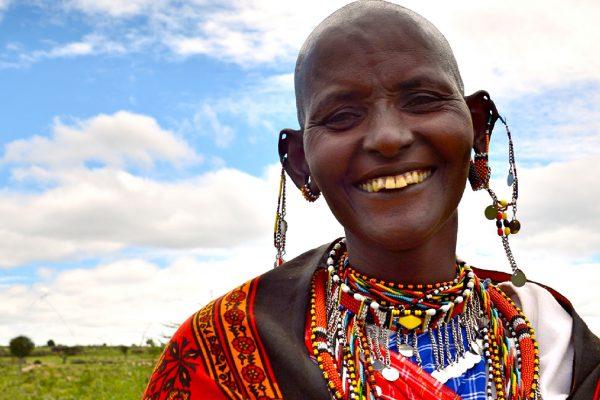 Massai woman portrait