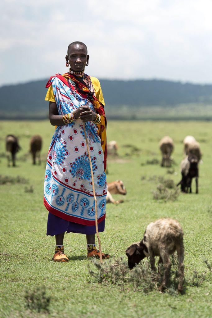 Kimere the goat herder