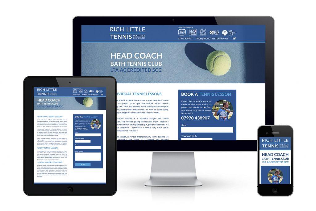 Rich Little Tennis website