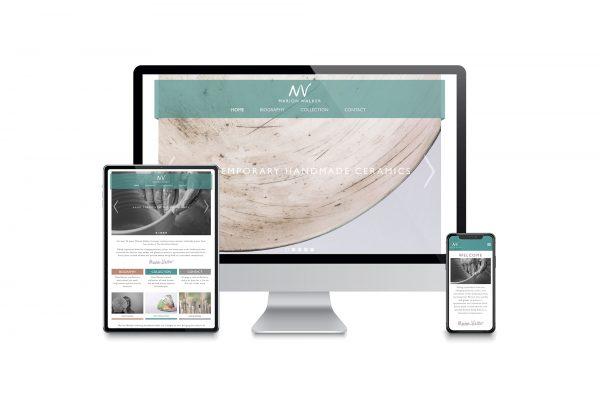 Marion Walker - Website design
