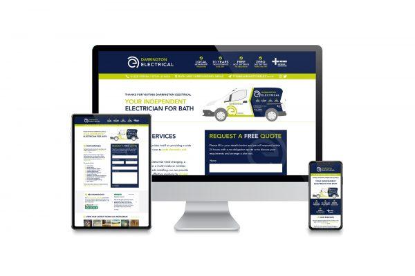 Darrington Electrical - Website design