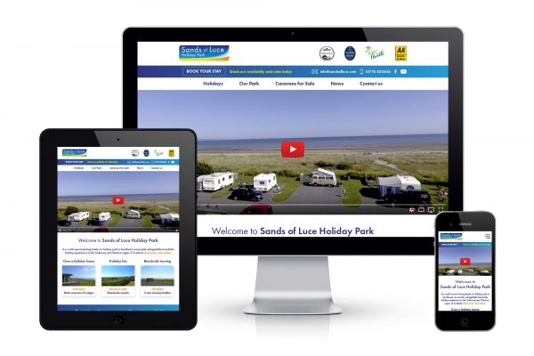 Sands of Luce Holiday Park - Website