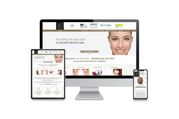 41 South Bar Dental Practice - Website design