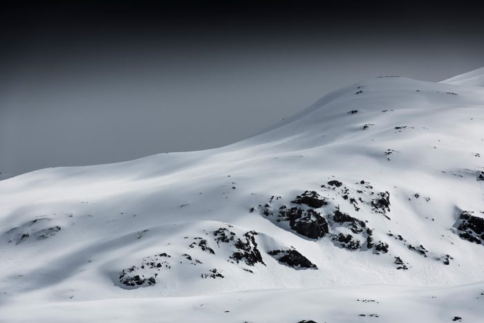 Mountain landscape, South Georgia