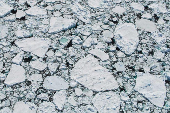 Sea ice, Greenland