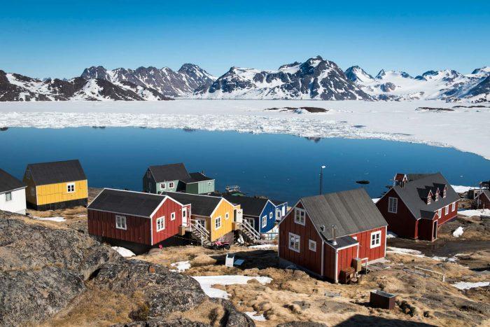 Kulusuk village, Greenland
