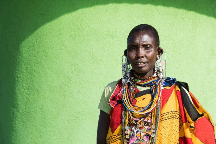 Maasai portrait, Tanzania