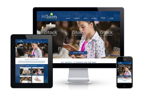 All Saints Weston - Website Concept