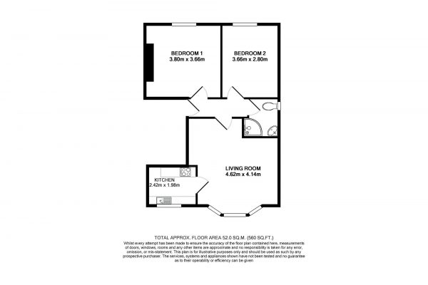 Bath Student Rentals - Property Floor Plan