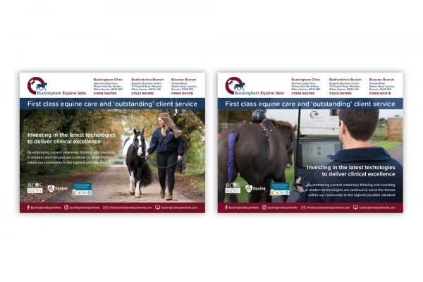 Buckingham Equine Vets - Advertising