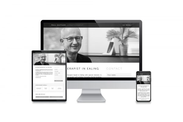 Paul Eastham Hypnotherapy - Website design