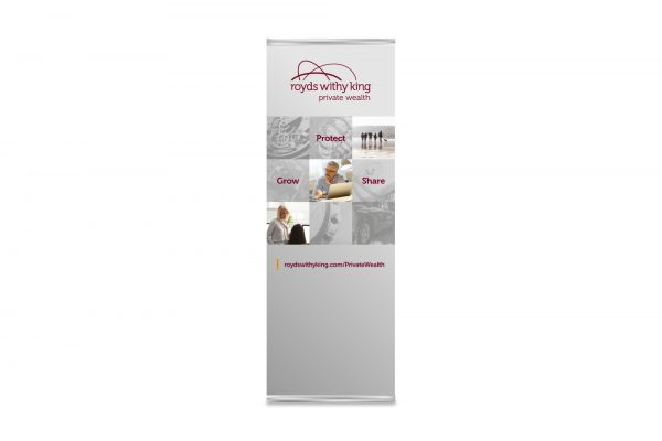Royds Withy King - Private Wealth Pop Up Banner