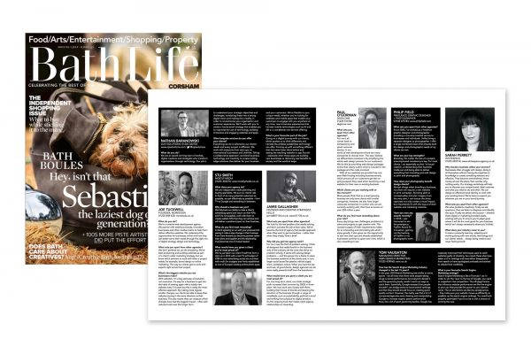 Bath Life - Meet the Agency feature - Issue 395 (5-19 July 2019)