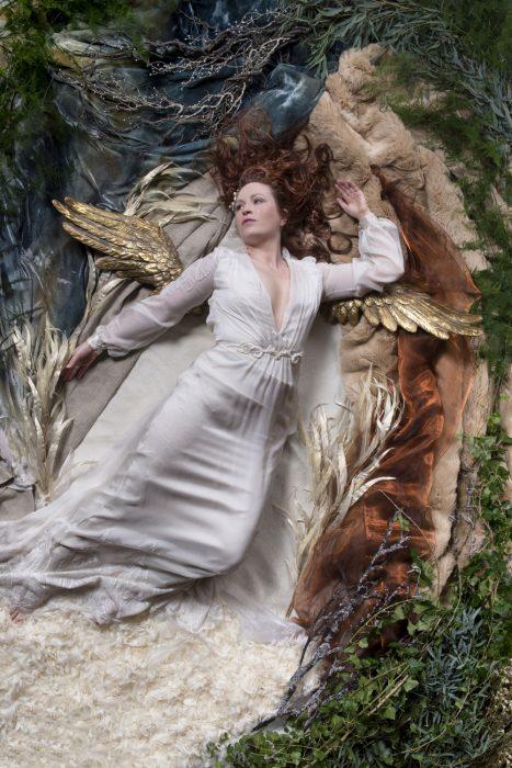 Mythical wedding editorial shoot