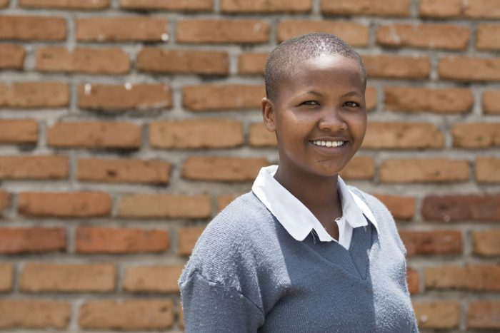 Maasai school pupil